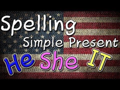 Spelling He/ She/ It - Simple Present - Aula Grátis de Inglês do Curso Online Gratuito de YouTube · Duração:  7 minutos 47 segundos