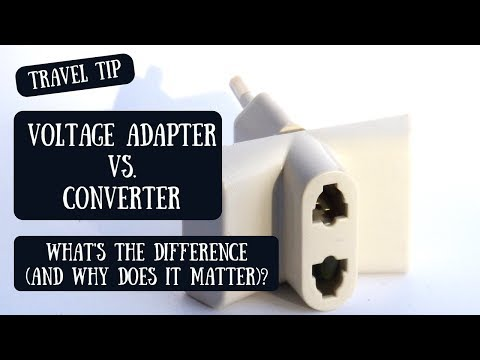 Voltage Adapter Or Converter? | Understanding The Difference \u0026 Determining What You Need