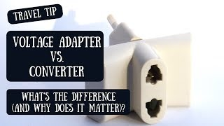 Voltage Adapter or Converter? | Understanding the Difference & Determining What You Need