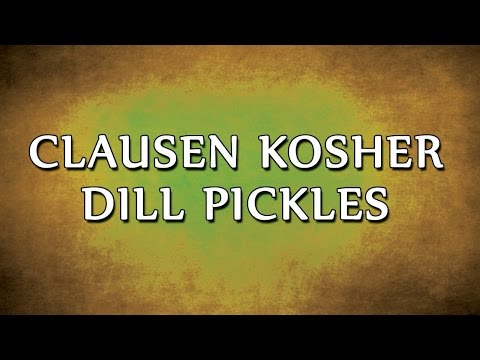 Clausen Kosher Dill Pickles | RECIPES | EASY TO LEARN