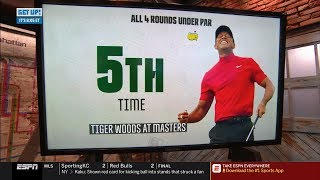Tiger Woods win 1st Master Since 2005