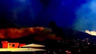 Fire on Lion's Head, Cape Town