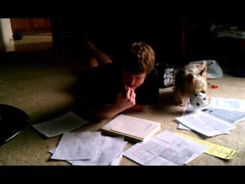 Bu helping Brock do his homework...