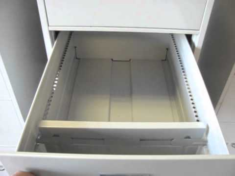 3 HON File Cabinets - YouTube