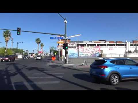Walking To Atomic Liquors In Downtown Las Vegas