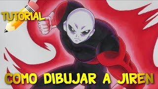 CÓMO DIBUJAR a JIREN Tutorial (Prismacolor Premier) || How to draw Jiren The Gray ジレン