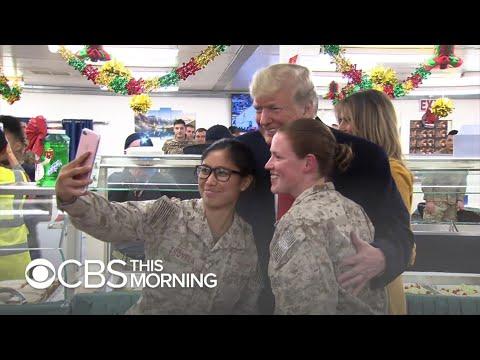 Trump still a rock star to troops in Iraq despite controversy at home