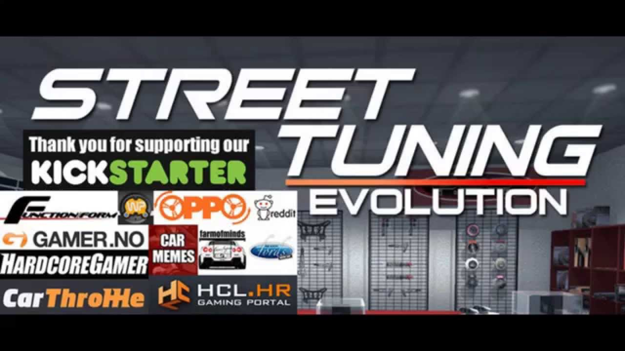 street tuning evolution kickstarter