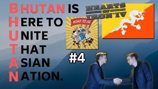 HoI4 - Road to 56 mod - Bhutan Is Here To Unite That Asian Nation - Part 4 - WAR WITH INDIA!!