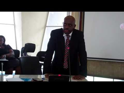 Director of UN Information Centre (UNIC) Lagos, Mr Ronald Kayanja