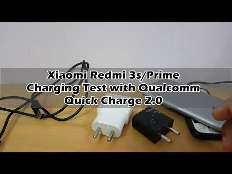 Charging Time Test Of Redmi 3S Prime with Qualcomm Quick Charge 2.0.