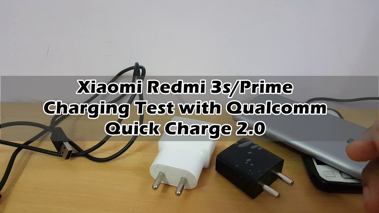 Charging Time Test Of Redmi 3s Prime With Qualcomm Quick Charge 20 Aukey Pa U28 Turbo Charger 18w Fastcharging