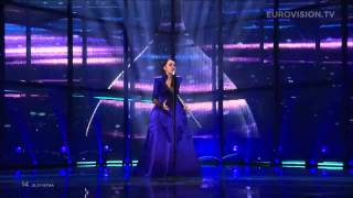 Tinkara kovač - round and round (slovenia) 2014 live eurovision second semi-final