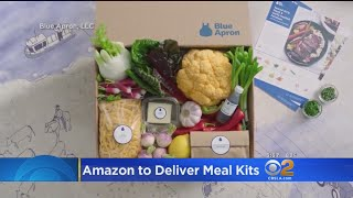 Amazon Takes On Blue Apron To Deliver Meal Kits