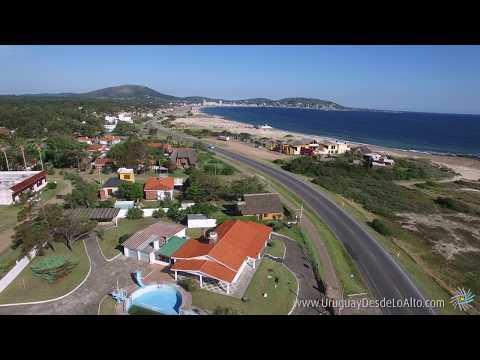 Video aéreo de Playa Grande y barrio Los Ángeles de Piriápolis, Uruguay desde lo Alto