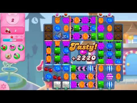Candy Crush Saga Level 2961 NO BOOSTERS (11 moves)