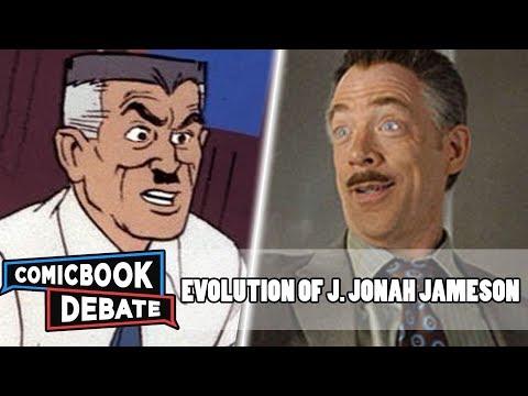 Evolution Of J. Jonah Jameson In Cartoons, Movies & TV In 13 Minutes (2018)