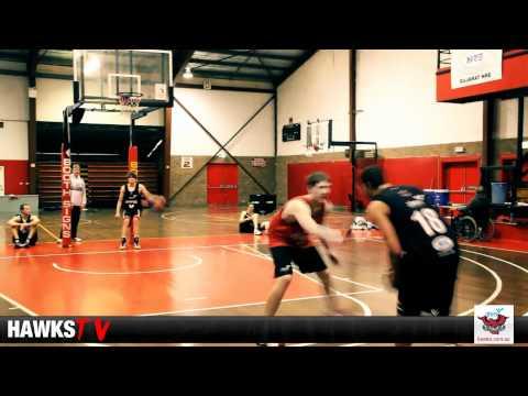 Gary Ervin & Dave Gruber throw down some dunks - J...
