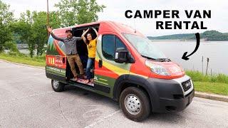 Van Life Camper Van RENTAL TOUR