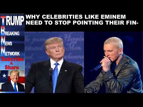 WHY CELEBRITIES LIKE EMINEM NEED TO STOP POINTING THEIR FINGER A