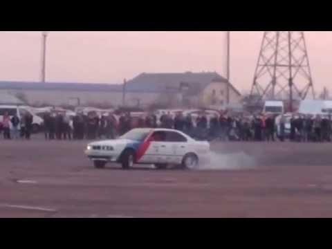 BMW сжигание колес Ужгород