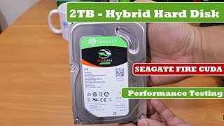 seagate Firecuda 2TB - Internal Hard Drive  Unboxing and Review