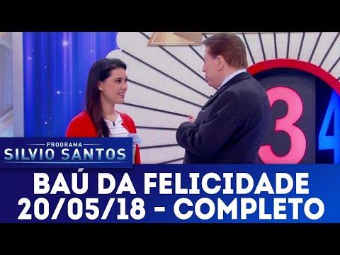 Baú da Felicidade - Completo | Programa Silvio Santos (20/05/18)