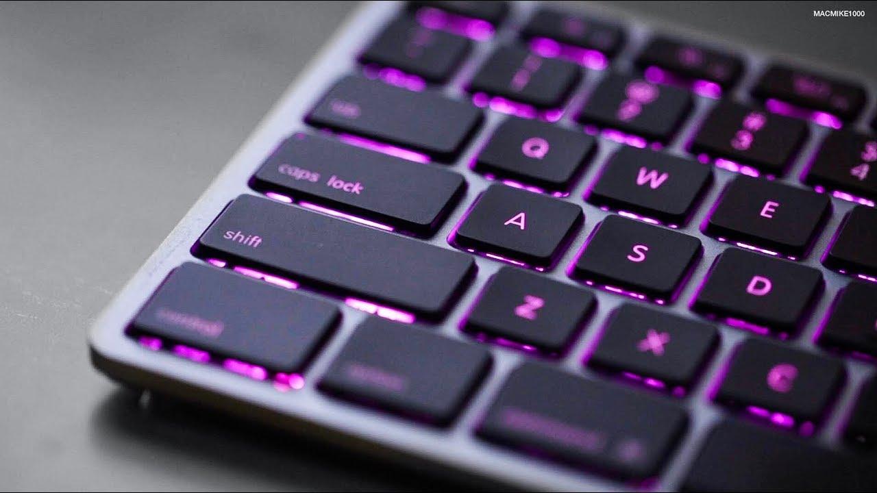 e379bda40a1 Matias RGB Backlit Wired Aluminum Keyboard for Mac (Space Gray ...