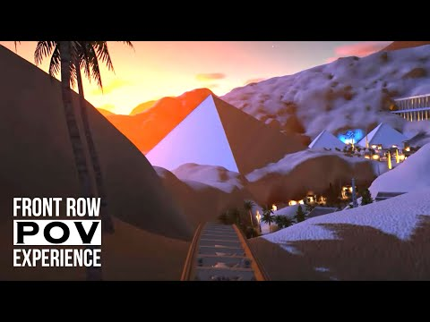 Epic Egyptian Coaster POV, with New #PlanetCoaster Adventure Pack