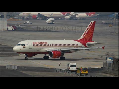 AIR INDIA AIRBUS 319 VT-SCX Takeoff from Chatrapati Shivaji International Airport CSIA\VABB