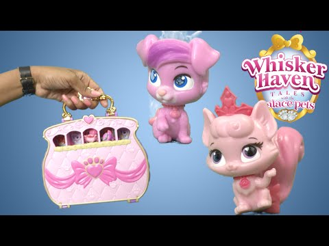 4e49bbbf20b Whisker Haven Pawfect Purse Carry and Play from Blip Toys - YouTube