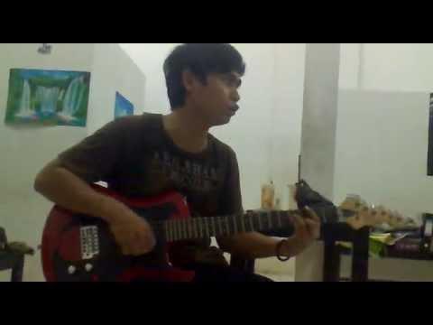aksi gitar howi pearl