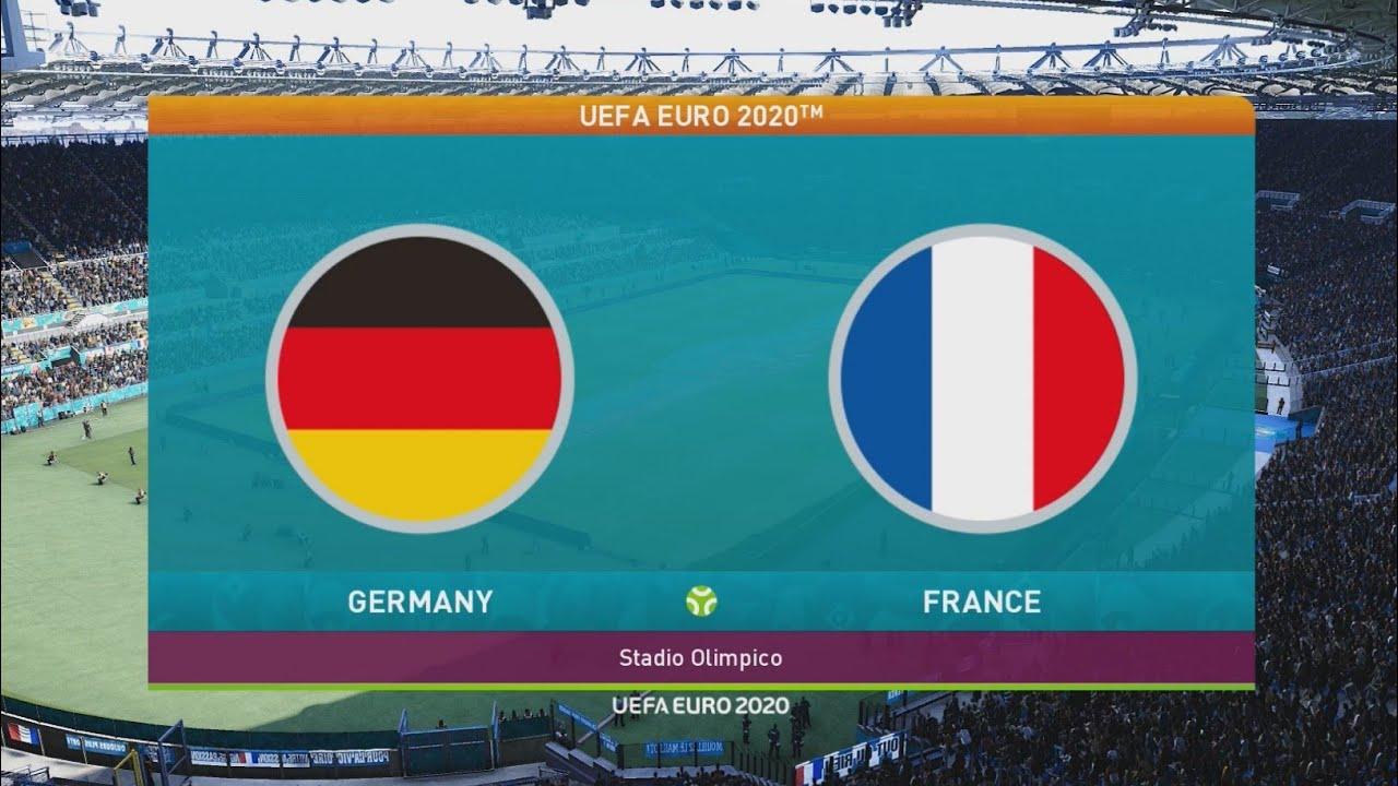 يورو 2020- فرنسا VS المانيا 🔥 معركة اوروبا (( بيس 2021 )) - YouTube