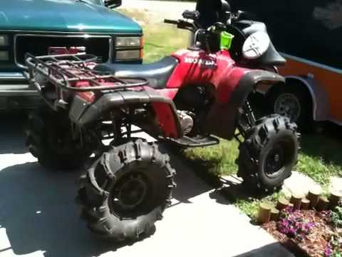 Custom Honda 300 4x4 Youtube