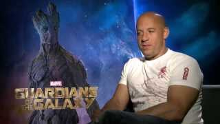 """Marvel's """"Guardians of the Galaxy"""" - Vin Diesel Interview"""