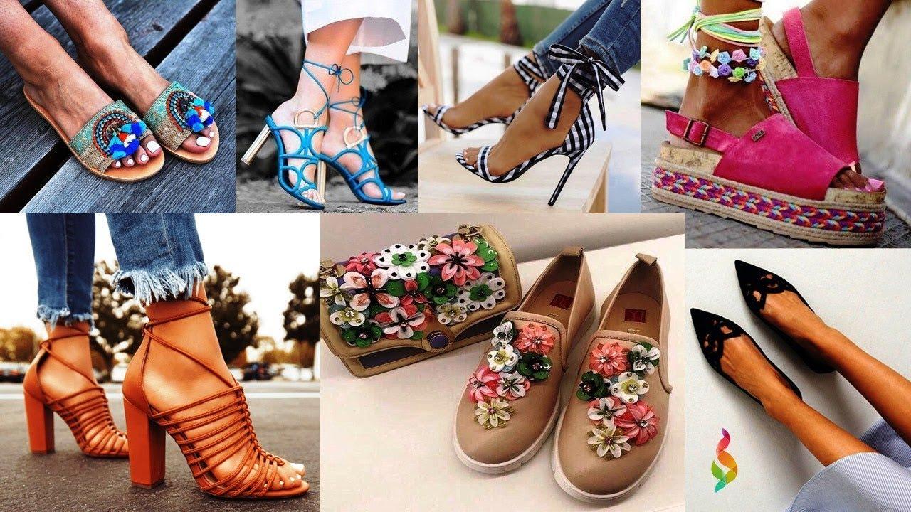 В этом обзоре фотографий женщины и девушки смогут найти модную обувь на 2019 год.