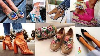 Модная обувь лето 2018 фото тренды 💎 Летняя обувь 2018 женская: босоножки, мюли, кеды