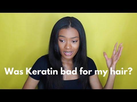 Keratin Treatment Q&A   Keratin Treatment On Natural Heat Trained Hair