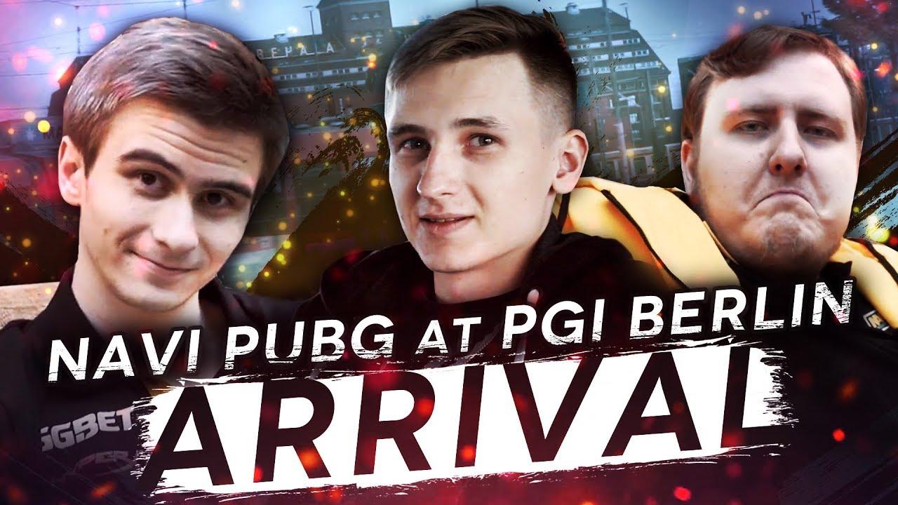 Download NAVI PUBG at PGI Berlin: Arrival