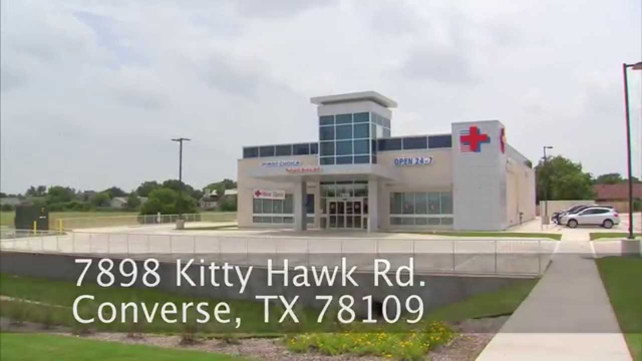 Converse TX 24/7 Emergency Room: First Choice ER