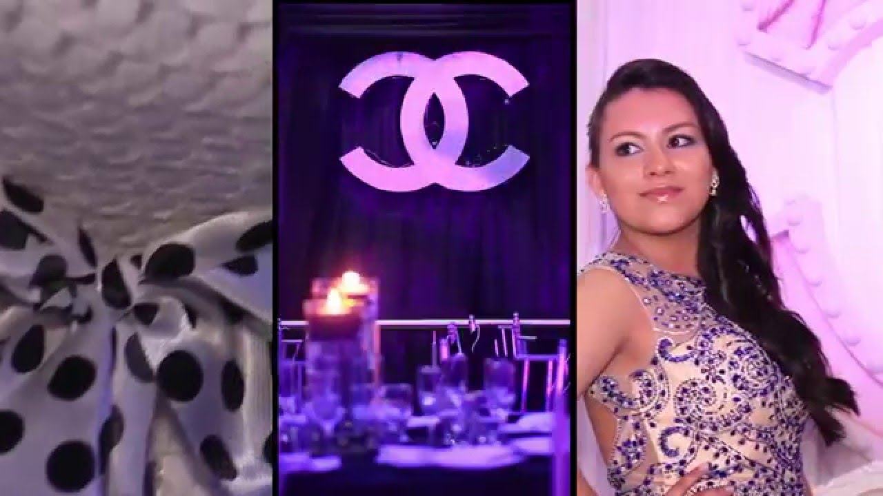Fiesta de 15 años - Temática Chanel - Eventos Casa Montserrat - YouTube