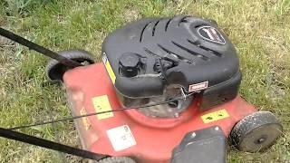видео Бензиновая газонокосилка MTD 395 PO