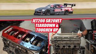 JET200 Comeback - SR22VET Teardown to Toughen Up - Motive Garage
