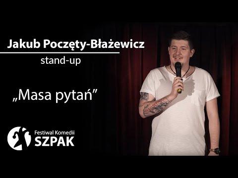 """Jakub Poczęty-Błażewicz stand-up: """"Masa pytań"""" thumbnail"""