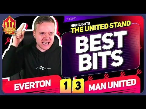 GOLDBRIDGE Best Bits   Everton 1-3 Man United