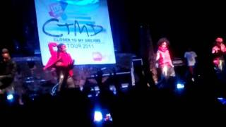 "Closer to my Dreams Concert - Mindless Behavior ""Mrs. Right"" Ft. Diggy 7/27/11"