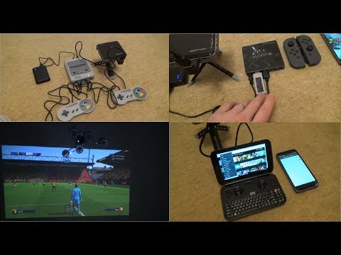 'Good things come in SMALL Packages'- Miniature Portable Tech for Cinema/Gaming while Camping