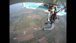 Static Line Skydive HD GoPro
