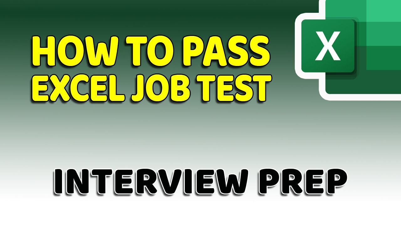 How To Pass Microsoft Excel Test – Get ready for the Interview