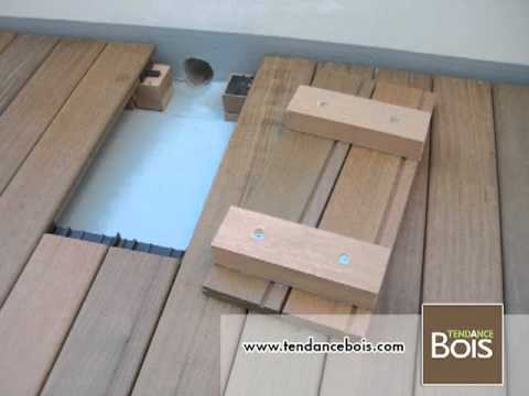 trappe de visite pour terrasse en bois youtube. Black Bedroom Furniture Sets. Home Design Ideas